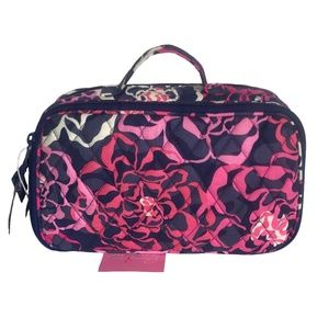 Blush & Brush Makeup Case in Katalina Pink